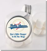 Little Slugger Baseball - Personalized Baby Shower Candy Jar