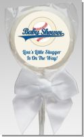 Little Slugger Baseball - Personalized Baby Shower Lollipop Favors