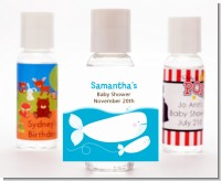 Little Squirt Whale - Personalized Baby Shower Hand Sanitizers Favors