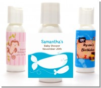 Little Squirt Whale - Personalized Baby Shower Lotion Favors