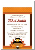 Little Turkey Boy - Baby Shower Petite Invitations