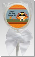 Little Turkey Boy - Personalized Baby Shower Lollipop Favors