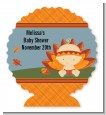 Little Turkey Girl - Personalized Baby Shower Centerpiece Stand thumbnail