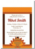 Little Turkey Girl - Baby Shower Petite Invitations