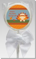 Little Turkey Girl - Personalized Baby Shower Lollipop Favors