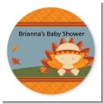 Little Turkey Girl - Personalized Baby Shower Table Confetti thumbnail