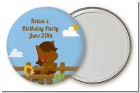 Little Cowboy Horse - Personalized Birthday Party Pocket Mirror Favors