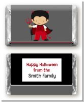 Little Devil - Personalized Halloween Mini Candy Bar Wrappers