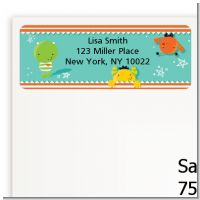 Little Monster - Baby Shower Return Address Labels