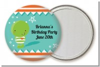 Little Monster - Personalized Birthday Party Pocket Mirror Favors