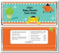 Little Monster - Personalized Baby Shower Candy Bar Wrappers