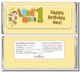 Look Who's Turning One Monkey - Personalized Birthday Party Candy Bar Wrappers thumbnail