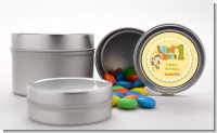 Look Who's Turning One Monkey - Custom Birthday Party Favor Tins