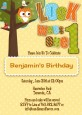 Look Who's Turning One Owl - Birthday Party Invitations thumbnail