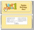 Look Who's Turning One Owl - Personalized Birthday Party Candy Bar Wrappers thumbnail
