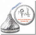 Los Angeles Skyline - Hershey Kiss Bridal Shower Sticker Labels thumbnail