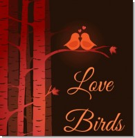 Love Birds Bridal Shower Theme