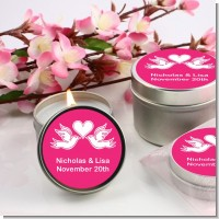The Love Birds - Bridal | Wedding Candle Favors