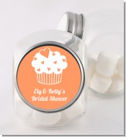 Love is Sweet - Personalized Bridal Shower Candy Jar