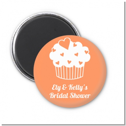 Love is Sweet - Personalized Bridal Shower Magnet Favors