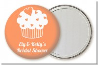 Love is Sweet - Personalized Bridal Shower Pocket Mirror Favors
