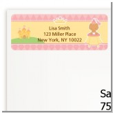 Little Princess Hispanic - Baby Shower Return Address Labels
