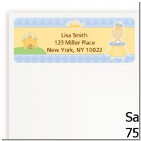 Little Prince - Baby Shower Return Address Labels