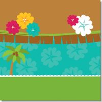 Hawaiian Luau Baby Shower Theme