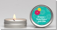Luau - Baby Shower Candle Favors