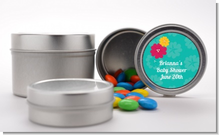 Luau - Custom Birthday Party Favor Tins