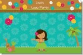 Luau Friends - Personalized Birthday Party Placemats