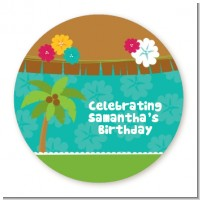 Luau Friends - Personalized Birthday Party Table Confetti
