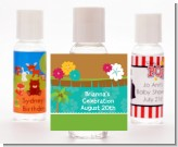 Luau - Personalized Birthday Party Hand Sanitizers Favors