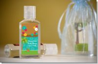 Luau - Personalized Baby Shower Hand Sanitizers Favors