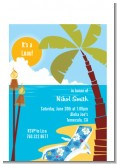 Luau - Birthday Party Petite Invitations