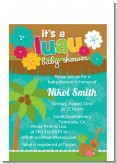 Luau - Baby Shower Petite Invitations