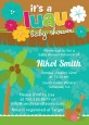 Luau - Baby Shower Invitations thumbnail
