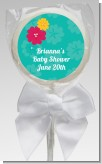 Luau - Personalized Baby Shower Lollipop Favors