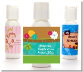 Luau - Personalized Baby Shower Lotion Favors