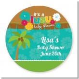 Luau - Personalized Baby Shower Table Confetti