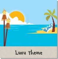 Luau Birthday Party Theme