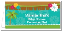 Luau - Personalized Baby Shower Place Cards