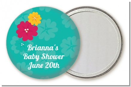 Luau - Personalized Baby Shower Pocket Mirror Favors