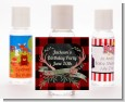 Lumberjack Buffalo Plaid - Personalized Birthday Party Hand Sanitizers Favors thumbnail