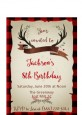 Lumberjack Buffalo Plaid - Birthday Party Petite Invitations thumbnail