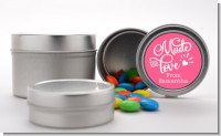Made With Love - Custom Birthday Party Favor Tins