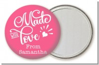 Made With Love - Personalized Birthday Party Pocket Mirror Favors