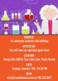 Mad Scientist - Birthday Party Invitations thumbnail