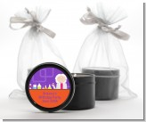 Mad Scientist - Birthday Party Black Candle Tin Favors