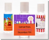 Mad Scientist - Personalized Birthday Party Hand Sanitizers Favors